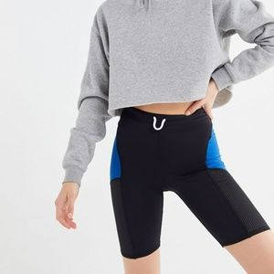 NWT Urban Outfitters Mesh Panel Bike Shorts